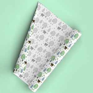childrens wrapping paper giftwrap animals