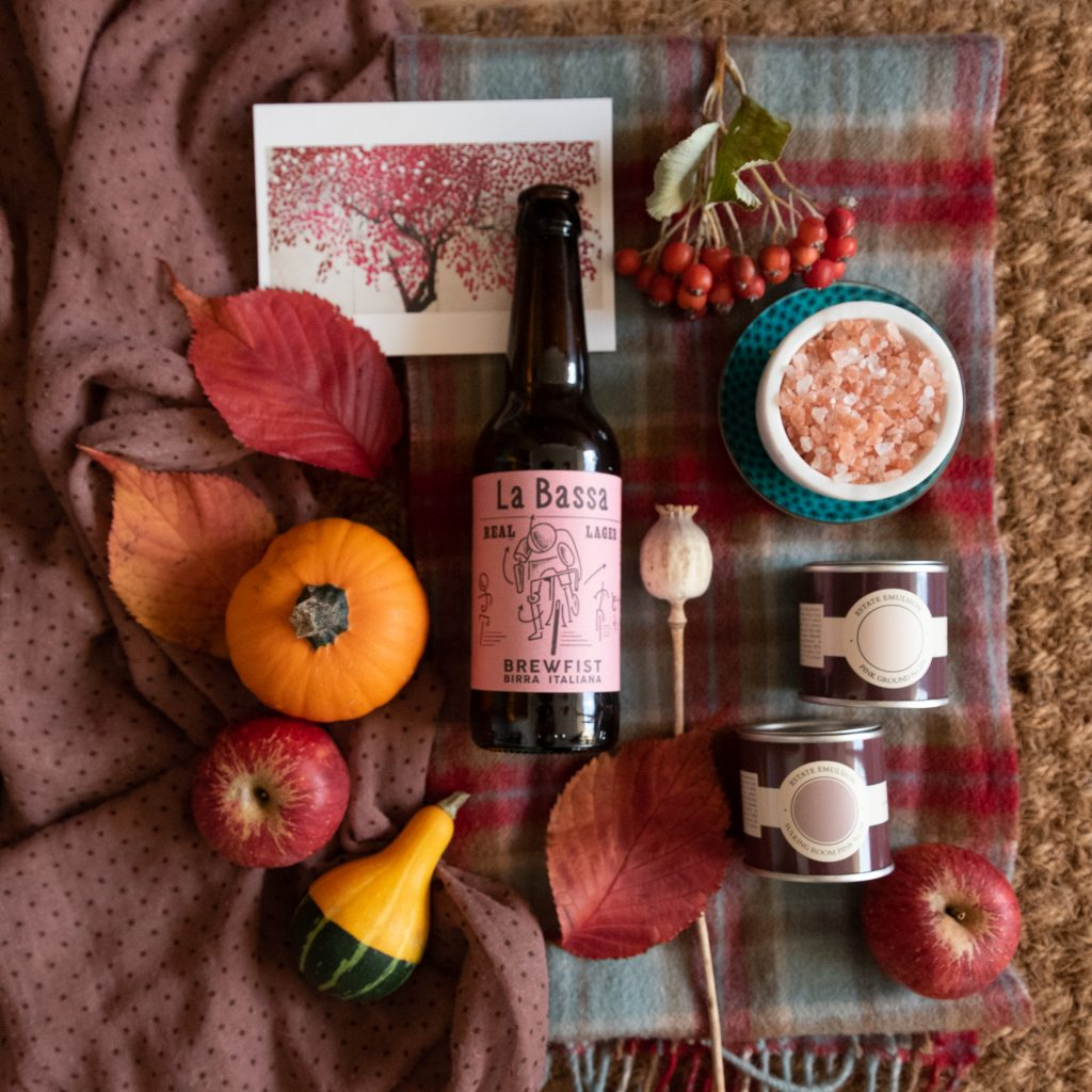 moodboard products styling autumnal props photography pumpkin