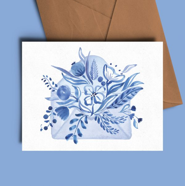 greeting card watercolour