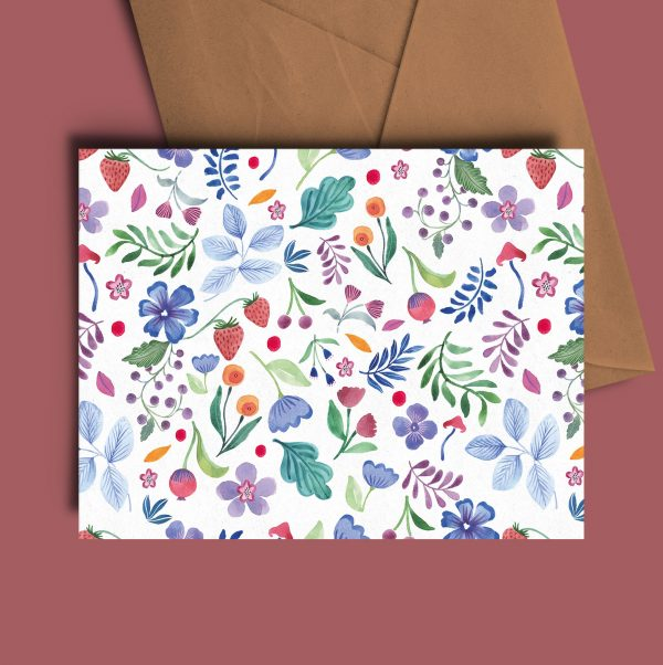greeting card nature summery
