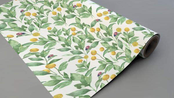 ladybirds wrapping paper