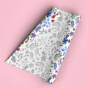 wrapping paper giftwrap nature
