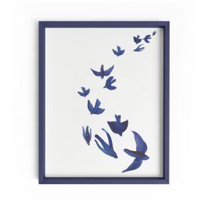 birds minimalist print