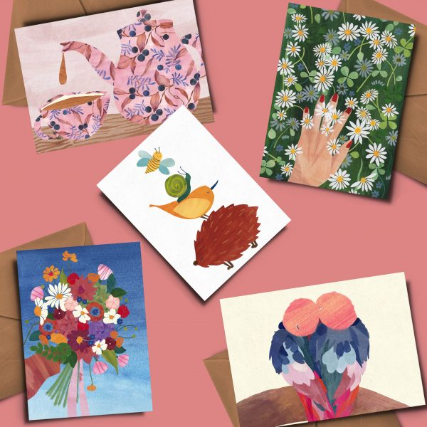 greeting card luxury stationery independent artist