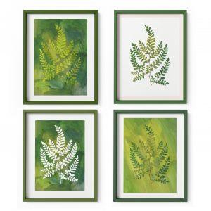 ferns art giclee print nature leaves